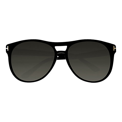 Buy Tom Ford FT0289 Callum Sunglasses, Black Online at johnlewis.com