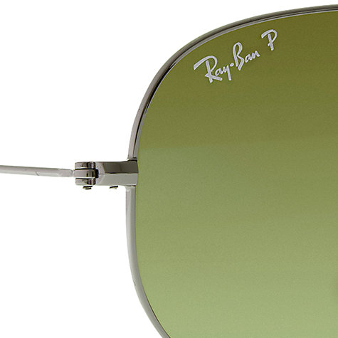 Buy Ray-Ban RB3479 Iconic Aviator Folding Sunglasses Online at johnlewis.com