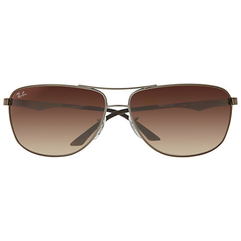 Buy Ray-Ban RB3506 Aviator Sunglasses, Gunmetal Online at johnlewis.com