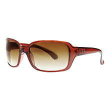 Buy Ray-Ban RB4068 High Street Square Sunglasses Online at johnlewis.com