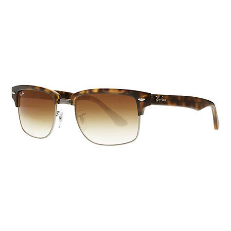 Buy Ray-Ban RB4190 Clubmaster Square Sunglasses Online at johnlewis.com