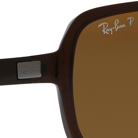 Buy Ray-Ban RB4192 Square Polarised Sunglasses Online at johnlewis.com