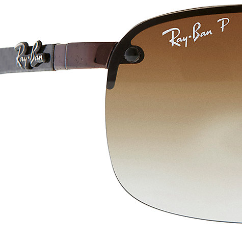Buy Ray-Ban RB8310 TECH Sunglasses, Brown Online at johnlewis.com