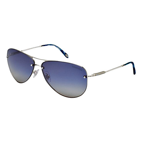Buy Tiffany & Co TF3039B Aviator Style Sunglasses Online at johnlewis.com