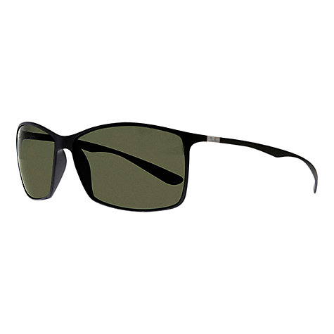Buy Ray-Ban RB4179 TECH Liteforce Polarised Sunglasses, Black Online at johnlewis.com