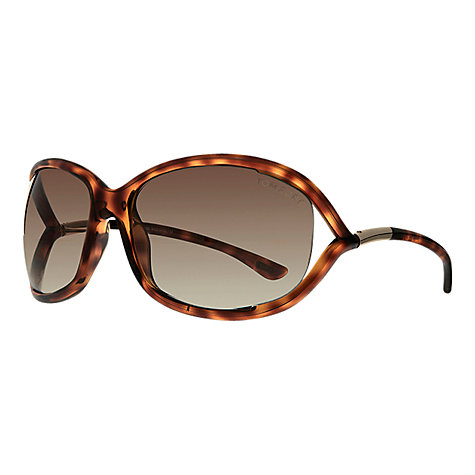 Buy TOM FORD FT008 Jennifer Square Sunglasses Online at johnlewis.com