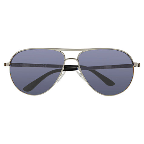 Buy Tom Ford Marko FT0144 Sunglasses, Silver Online at johnlewis.com