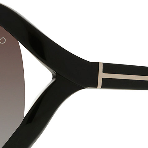 Buy TOM FORD Vivienne FT0278 Sunglasses, Black Online at johnlewis.com