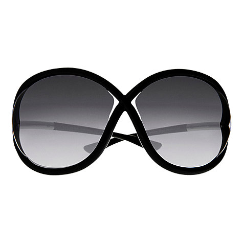 Buy Tom Ford FT0272 John Tubular Frame Sunglasses Online at johnlewis.com