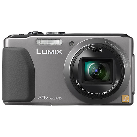 "Buy Panasonic DMC TZ40 Digital Camera, HD 1080p, 18.1MP, 20x Optical Zoom, Wi-Fi, NFC, GPS & GLONASS, 3"" Touch Screen Online at johnlewis.com"