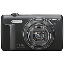 "Buy Olympus D-785 Digital Camera, HD 1080p, 16MP, 12.5x Optical Zoom with 3"" LCD Screen, Black Online at johnlewis.com"