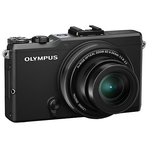 "Buy Olympus XZ-2 Digital Camera, HD 1080p, 12MP, 4x Optical Zoom with 3"" LCD Touch Screen Online at johnlewis.com"