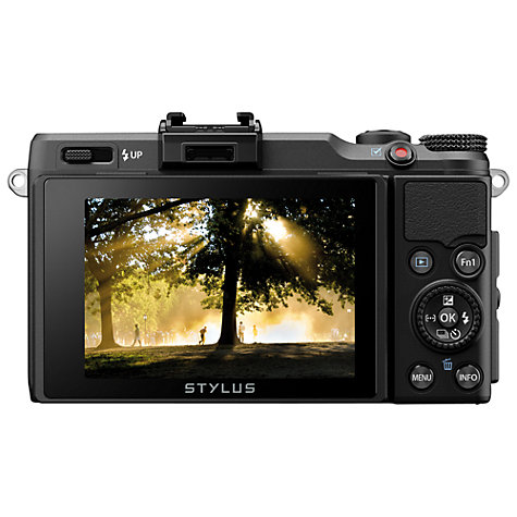 Buy Olympus XZ-2 Digital Camera, HD 1080p, 12MP, 4x Optical Zoom with 3 LCD Touch Screen Online at johnlewis.com