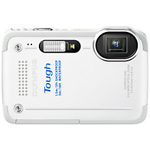 "Buy Olympus TG-630 Digital Camera, HD 1080p, 12MP, 5x Optical Zoom, 3"" LCD Screen, White Online at johnlewis.com"