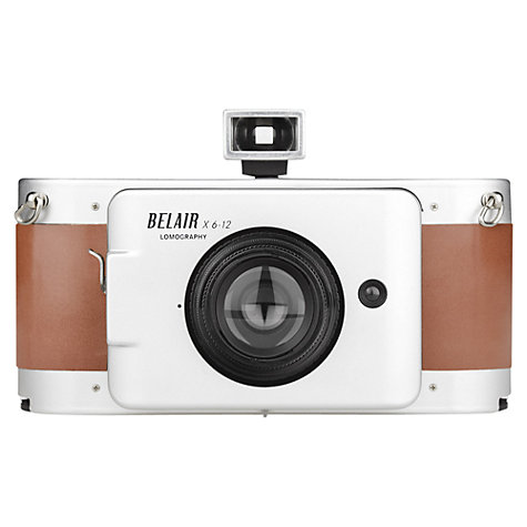 Buy Lomography Belair X 6-12 Jetsetter Medium Format Analogue Camera with 90mm & 58mm Lenses Online at johnlewis.com