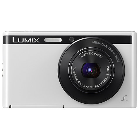 "Buy Panasonic DMC-XS1 Digital Camera, HD 720p, 16.1MP, 5x Optical Zoom, 2.7"" LCD Screen Online at johnlewis.com"