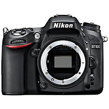 "Buy Nikon D7100 Digital SLR Camera, HD 1080p, 24.1MP, 3.2"" LCD Screen, Black, Body Only Online at johnlewis.com"