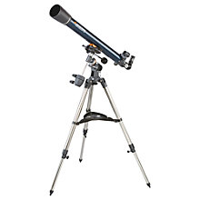 Buy Celestron AstroMaster 70EQ Refractor Telescope Online at johnlewis.com