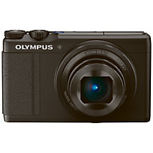 "Buy Olympus XZ-10 Digital Camera, HD 1080p, 12MP, 4x Optical Zoom, GPS, 3.2"" OLED Touch Screen with 16GB + 8GB Memory Card Online at johnlewis.com"