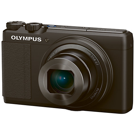 "Buy Olympus XZ-10 Digital Camera, HD 1080p, 12MP, 4x Optical Zoom, GPS, 3.2"" OLED Touch Screen Online at johnlewis.com"