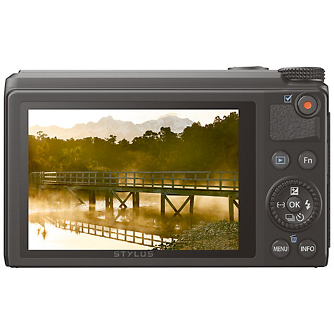 Buy Olympus XZ-10 Digital Camera, HD 1080p, 12MP, 4x Optical Zoom, GPS, 3.2 OLED Touch Screen Online at johnlewis.com