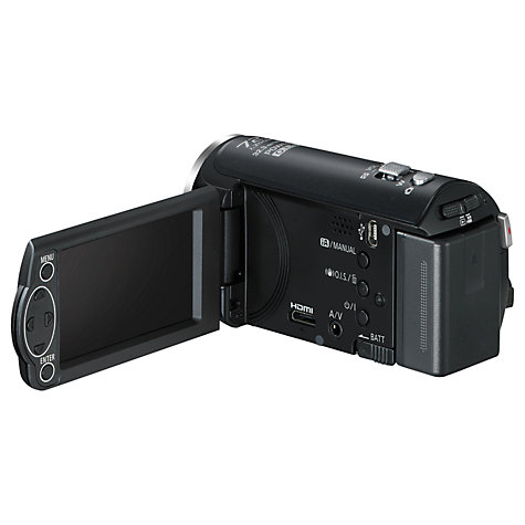 "Buy Panasonic HC-V210 HD 1080p Camcorder, 10MP, 38x Optical Zoom, 2.7"" LCD Screen, Black Online at johnlewis.com"