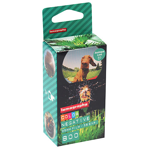 Buy Lomography Colour Negative 800/35mm Film, 3 Pack Online at johnlewis.com