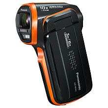 "Buy Panasonic HX-WA3 Camcorder, HD 1080p, 16MP, 5x Optical Zoom, 2.6"" LCD Screen Online at johnlewis.com"