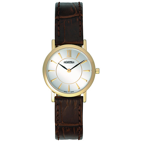Buy Roamer Limelight Women's Leather Strap Watch Online at johnlewis.com
