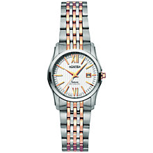 Buy Roamer Saturn 941561 49 13 90 Women's Automatic Stainless Steel Watch, Rose Gold Online at johnlewis.com