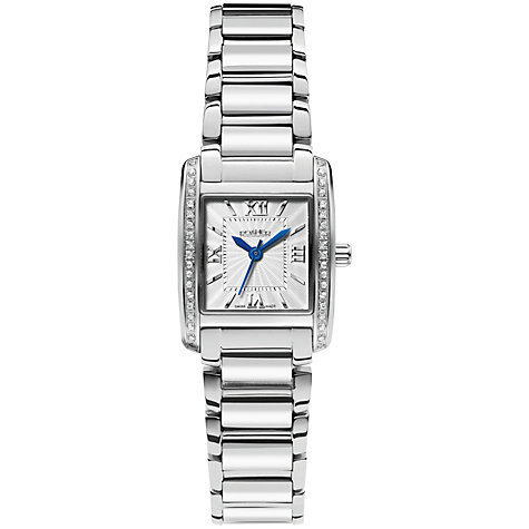 Buy Roamer Swiss Elegance 507845 45 13 50 Women's Stainless Steel Watch, Silver Online at johnlewis.com