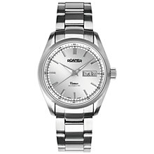 Buy Roamer Venus 932637 41 15 90A Men's Automatic Stainless Steel Watch, Silver Online at johnlewis.com
