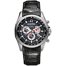 Buy Roamer Rockshell Chrono Men's Automatic Stainless Steel Watch Online at johnlewis.com