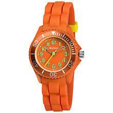 Buy Tikkers TK0063 Children's Watch, Orange/Yellow Online at johnlewis.com