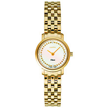Buy Roamer Odeon 931830 48 89 90 Women's Steel Bracelet Watch, Gold Online at johnlewis.com
