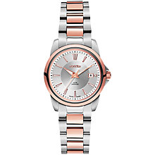 Buy Roamer Ares 730844 49 15 70 Women's Stainless Steel Watch, Rose Gold / Silver Online at johnlewis.com