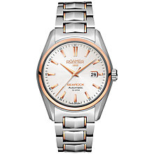 Buy Roamer Searock Men's Automatic Glass Caseback Watch Online at johnlewis.com