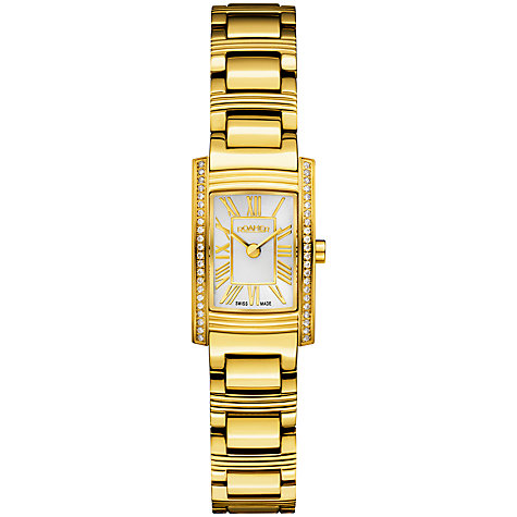 Buy Roamer Dreamline Arc Women's Roman Numeral Cubic Zirconia Watch Online at johnlewis.com