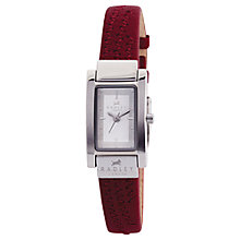 Buy Radley RY2021 Ladies' Leather Watch, Red Online at johnlewis.com