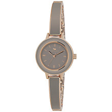 Buy Radley RY4146 Women's Enamel PVD Bangle Watch, Grey Online at johnlewis.com