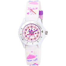 Buy Tikkers TK0037 Princess Watch, White Online at johnlewis.com
