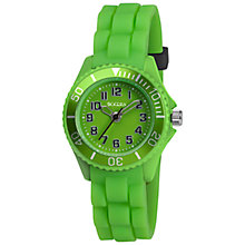 Buy Tikkers TK0062 Children's Watch, Lime Green Online at johnlewis.com