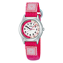 Buy Lorus Children's Time Teacher Daisy Watch Online at johnlewis.com