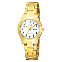 Buy Lorus RXU20AX9 Women's Stainless Steel Watch, Gold Online at johnlewis.com