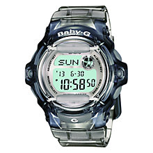 Buy Casio BG-169R-8ER Women's Baby-G Resin Alarm Chronograph Watch, Blue Online at johnlewis.com