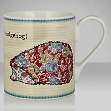 Buy Queens Forest Friends Hedgehog Mug, 0.25L Online at johnlewis.com