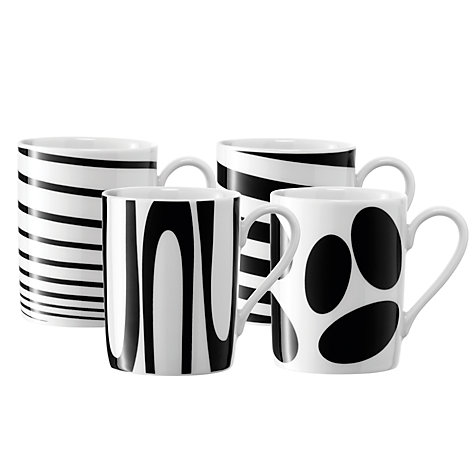 Buy LSA Jazz Mugs,  Set of 4 Online at johnlewis.com