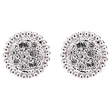 Buy Cachet London Bree Swarovski Stud Earrings Online at johnlewis.com