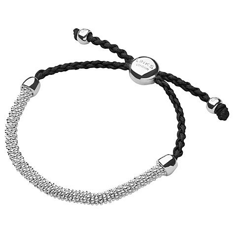 Buy Links of London Effervescence XS Sterling Silver Cord Bracelet Online at johnlewis.com