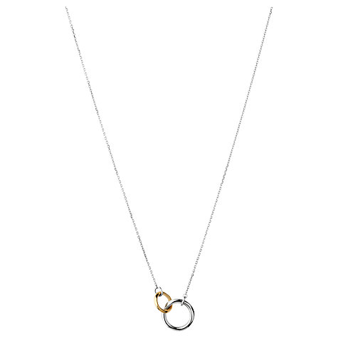 Buy Links of London 20/20 Bi-Metal Pendant, Silver / Gold Online at johnlewis.com